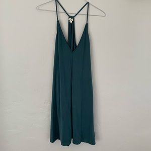 Urban Outfitters Teal Racerback Dress